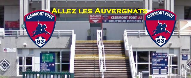 CF63 Allez les Auvergnats, Clermont-Ferrand, Foot, Ligue 1