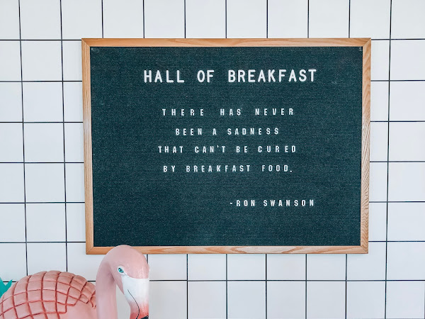 Kicking Off July with the Hall of Breakfast