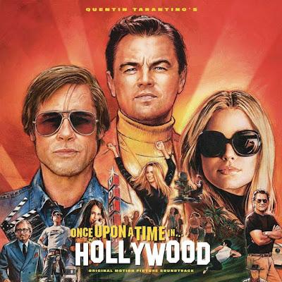 Poster de la película Once Upon a Time in Hollywood, de Quentin Tarantino