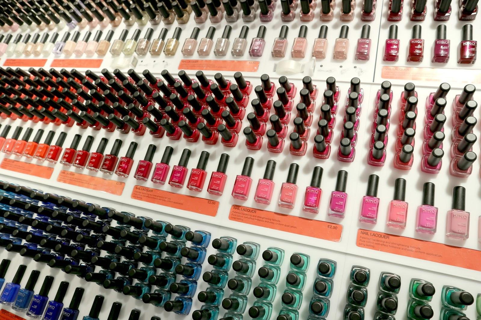KIKO Nail Lacquers Review Beauty Blog