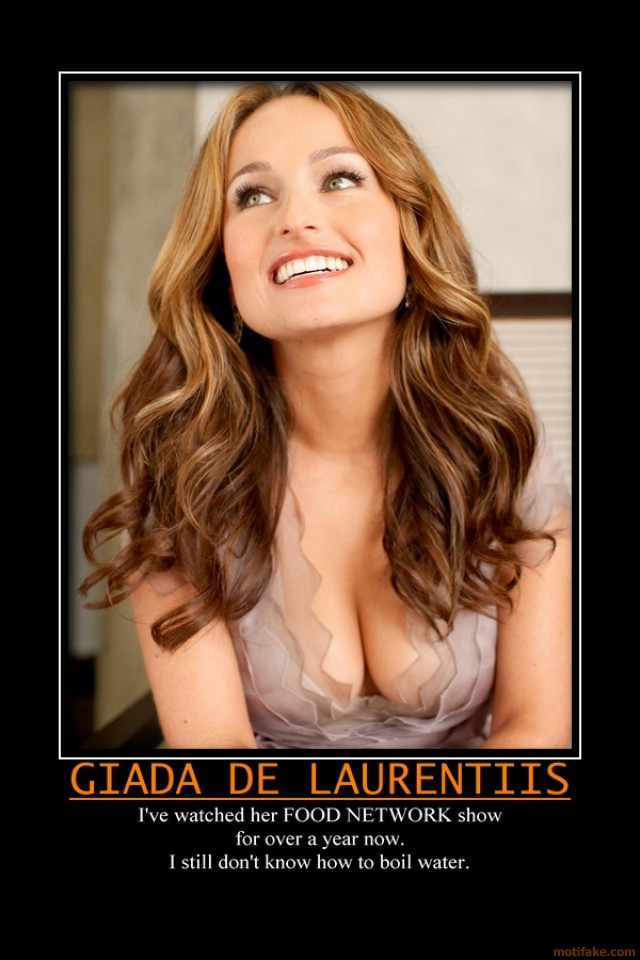 Oh Giada, will you whisk this for me?