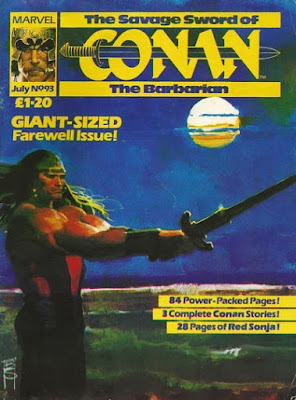 Marvel UK, Savage Sword of Conan #93