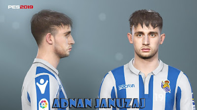 PES 2019 Faces Adnan Januzaj by Prince Hamiz