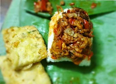 nasi ponggol setan makanan khas tegal enak
