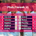 Premier League Match Day 11 Results