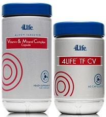 4life TF CV dan Vitamin & Mineral Complex