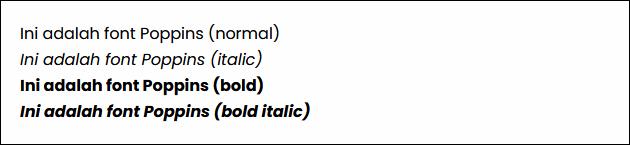 Daftar 10 Font Terbaik untuk Blog
