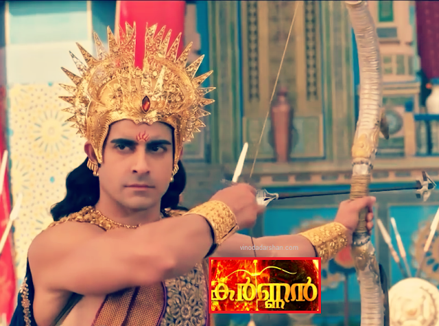 Gautam Rode as Karnan in Malayalam Serial Karnan on Mazhavil Manorama channel