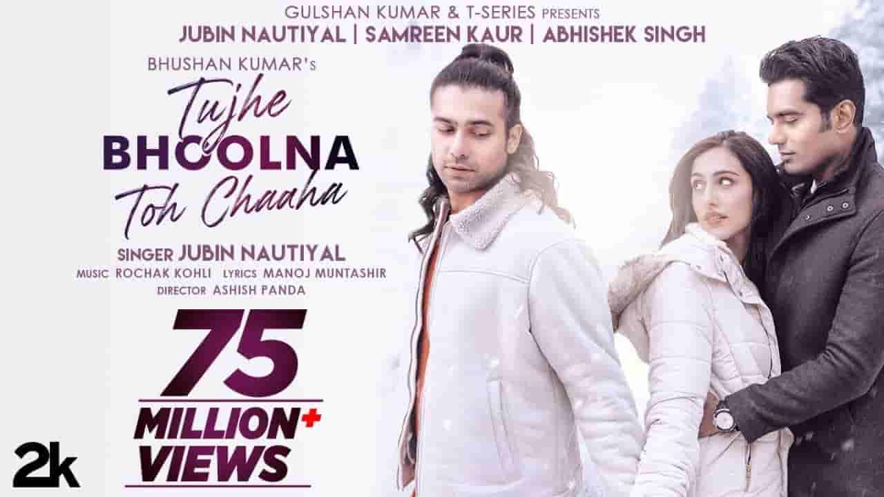 Tujhe bhoolna toh chaaha lyrics Jubin Nautiyal Hindi Song