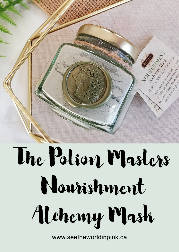 Mask Wednesday - The Potion Masters Nourishment Alchemy Mask