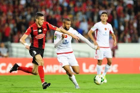 موعد مباراة الوداد المغربي ومولودية الجزائر بطولة دوري ابطال افريقيا