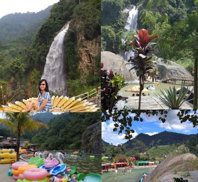 Curug bidadari _tempat wisata di bogor hits