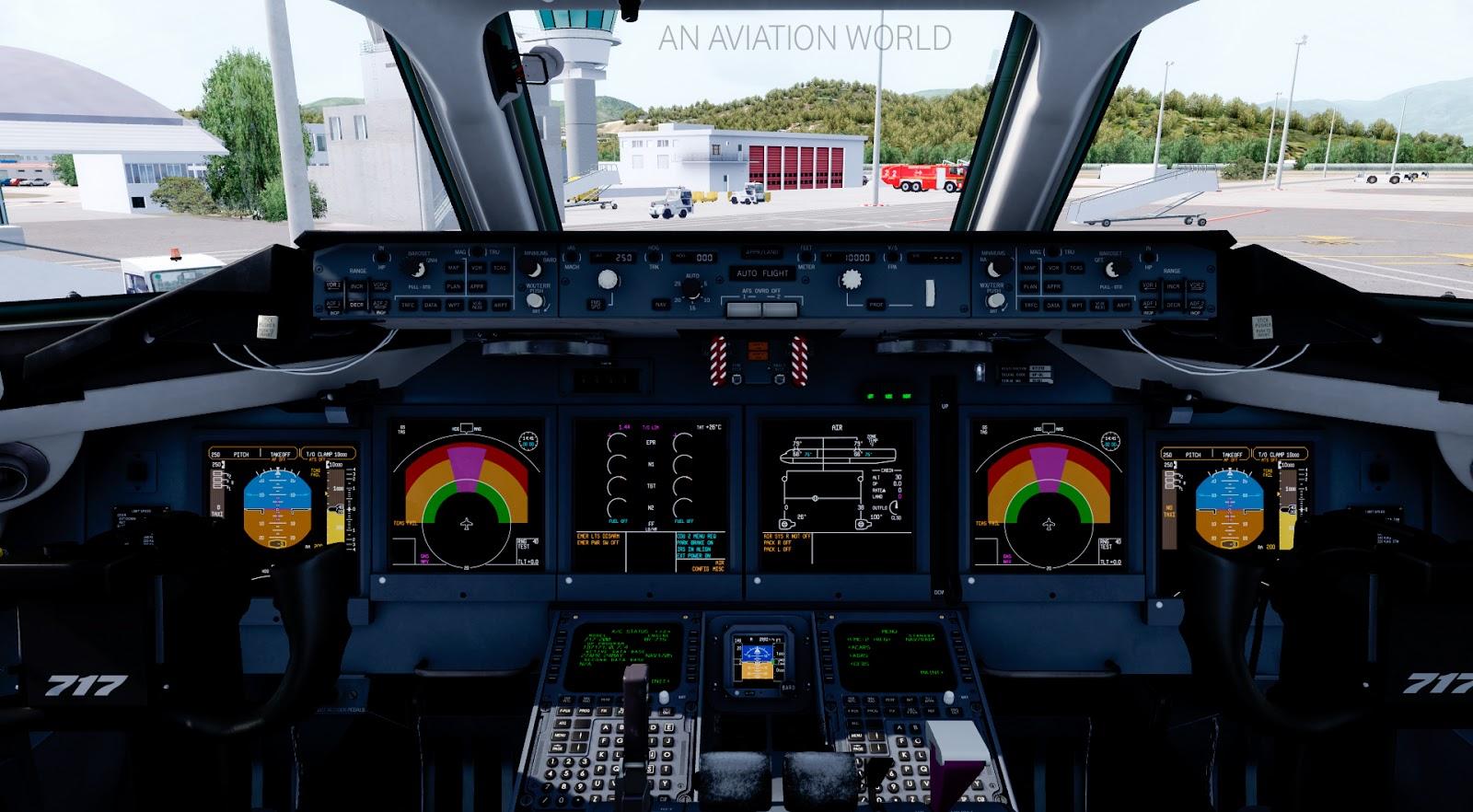 tfdi design 717 for fsx p3d review