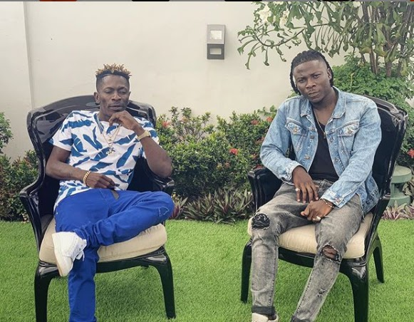 Few Weeks After Stonebouy Pulled a gun on Shatta Wale, Ghana's Finest Reggae/Dancehall Acts Make Peace