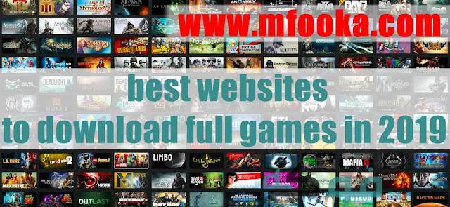 افضل موقع لتحميل الالعاب للكمبيوتر - best websites to download full games in 2019