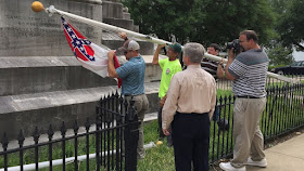 Confederate national flag taken down in Montgomery