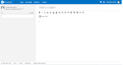 compose new email in outlook