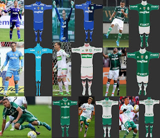 PES 2013 Palmeiras 2016-2017 Full Kits By Antonelli