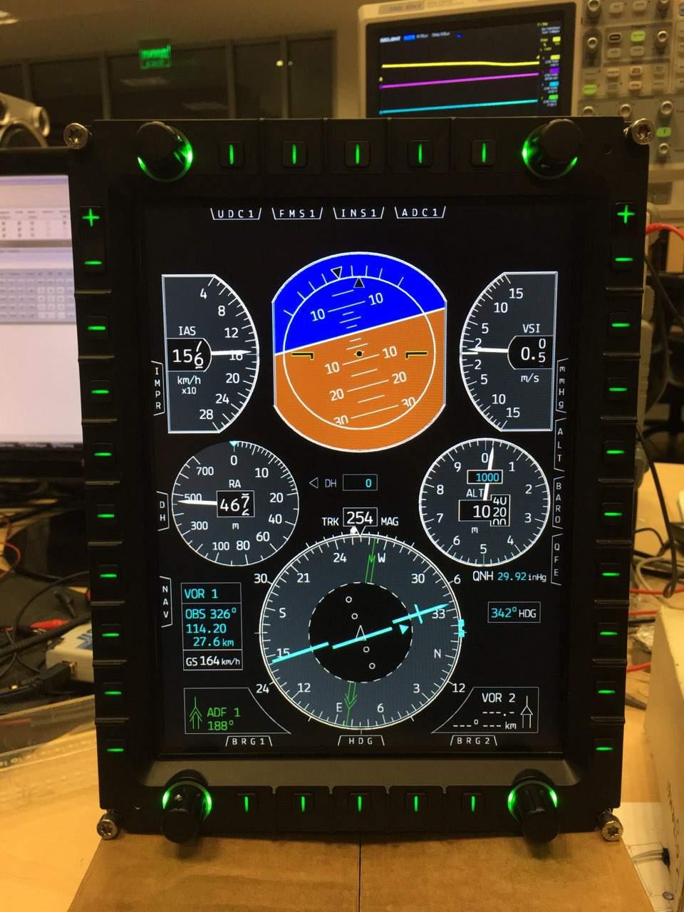 багатофункціональний індикатор MFD10.SPO.03