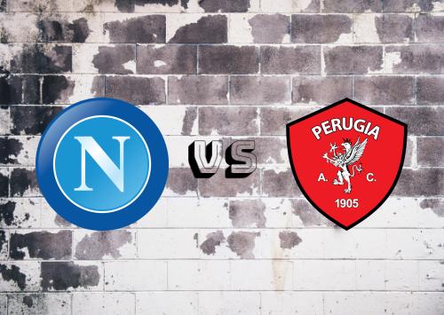 Napoli vs Perugia  Resumen