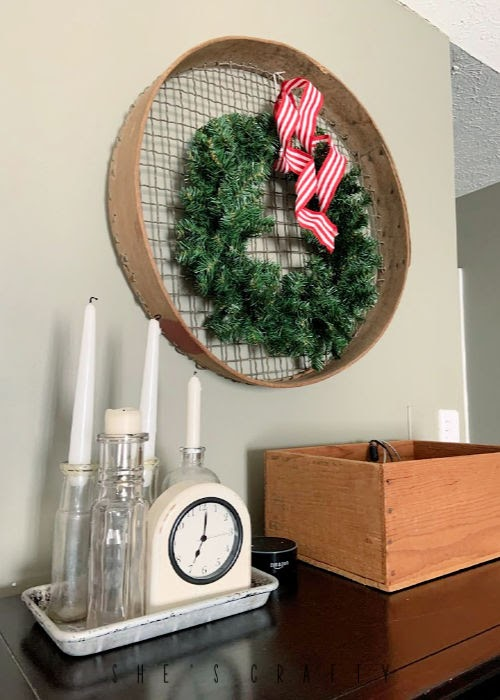 How to add Christmas decor to a bedroom