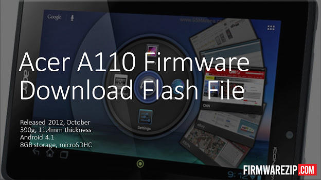 Acer A110 Firmware Download Flash File