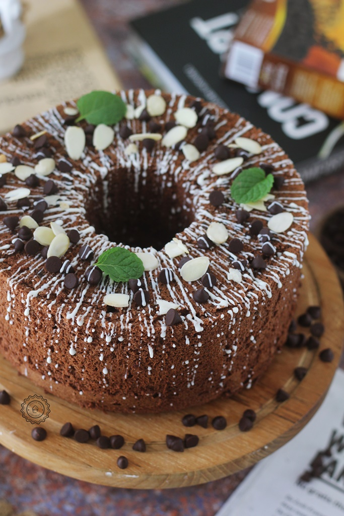 MOIST CHOCO CHIFFON CAKE & TIPS-TRIK CHIFFON CAKE