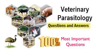 Veterinary Parasitology MCQS