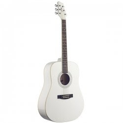 Đàn guitar Acoustic Stagg SW205-WH Màu Trắng Giá rẻ