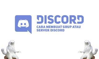 Cara Mudah Membuat Grup / Server di Discord