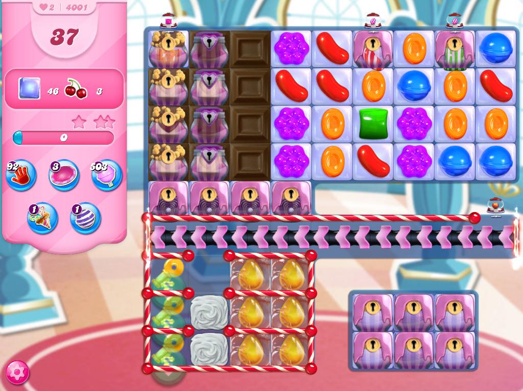 Candy Crush Saga level 4001