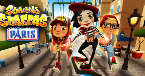 Download Game Subway Surfers 1.26.0 MOD Paris France (Unlimited Coins) For Android