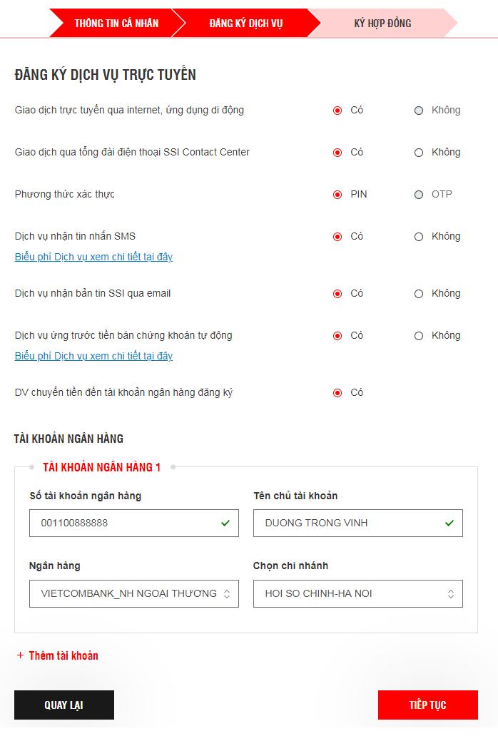 Hướng dẫn mở tài khoản trực tuyến Chứng khoán SSI từ A-Z