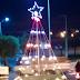 Vândalos furtam lâmpadas de decoração natalina na cidade de Cajazeiras e caso revolta população