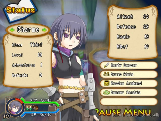 Recettear: An Item Shop's Tale PC Game