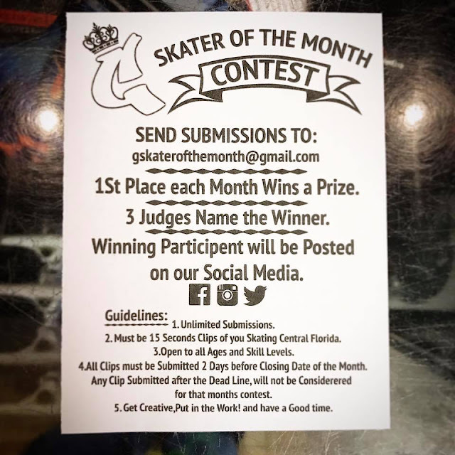 skate contest submission rules orlando skateshop
