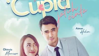Sinopsis Drama Bila Cupid Jatuh Cinta Lakonan Aiman Hakim dan Oktovia Manrose