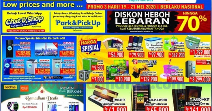 Promo Hypermart Heboh Diskon Lebaran Hingga 70%