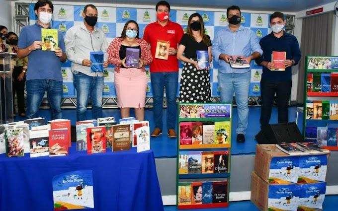 Mais 10 cidades maranhenses recebem kits literários para fortalecer aprendizagem