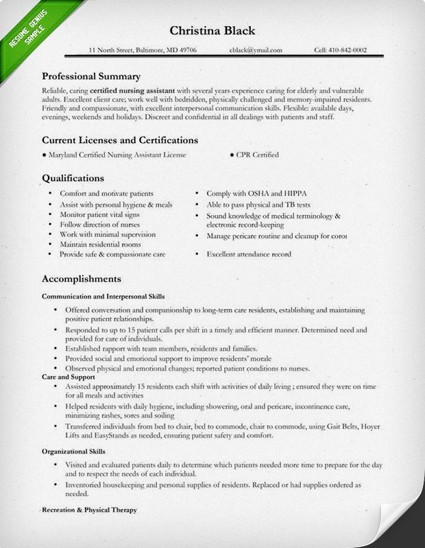 Staff Accountant Resume Examples - Template