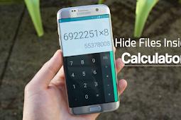 Cara Menyembunyikan File Android di Dalam Kalkulator
