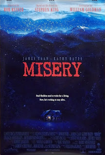 Stephen King Poster, Misery, Roginal Misery Movie Poster