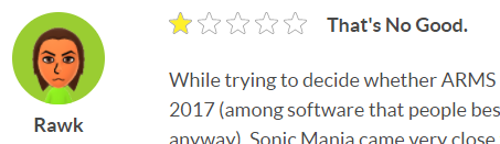 Sonic Mania ARMS review Nintendo.com Nintendo Switch
