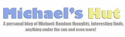Michael's Hut - Personal blog of Michael David Oyco