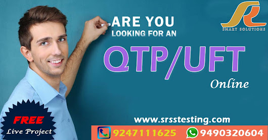 QTP/UFT with VB SCRIPT Online Training by Mr.Suresh Reddy Sir ( Suresh Reddy's Smart Solution)