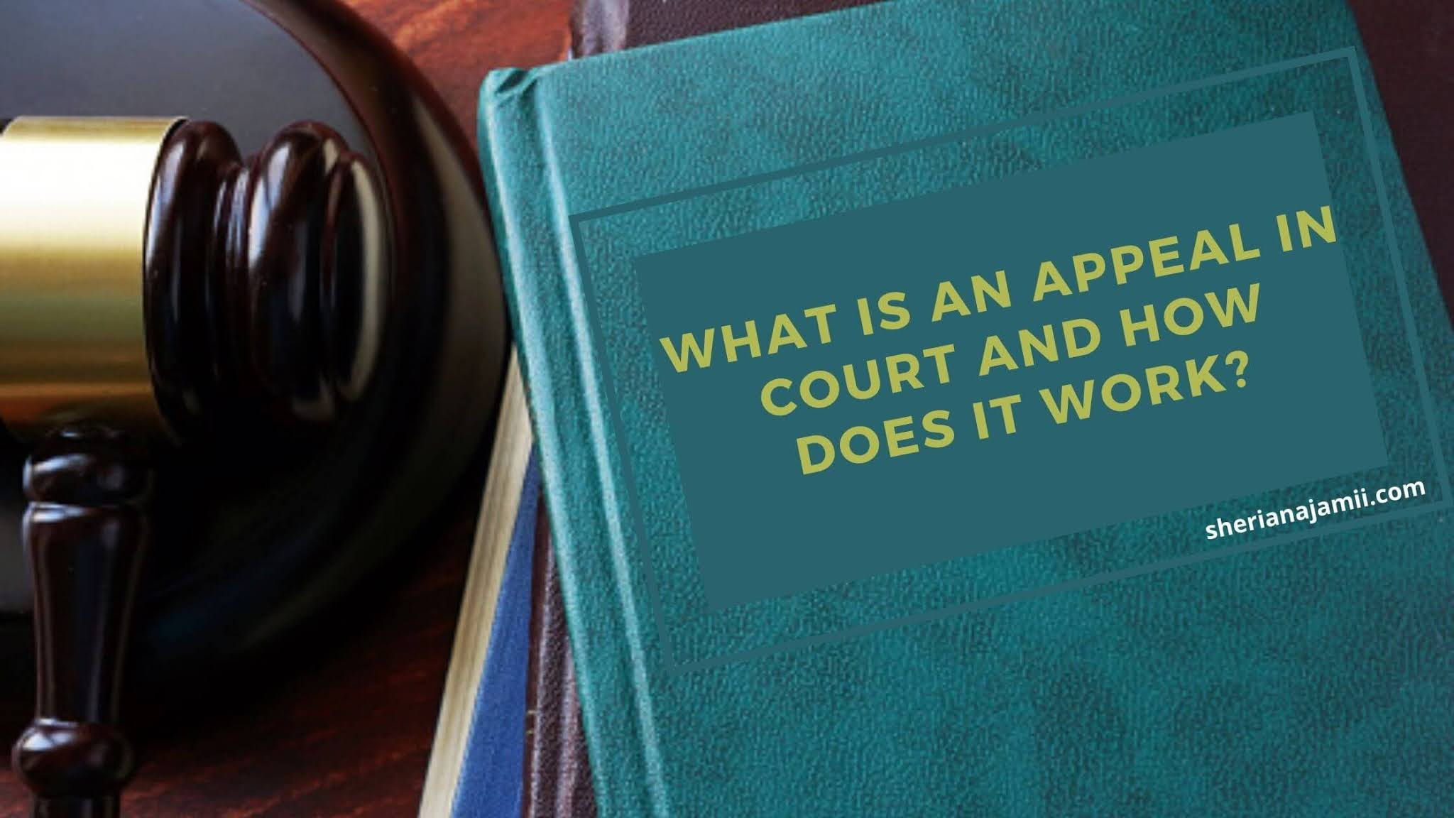 What is an appeal in court, grounds of appeal, how to file an appeal,
