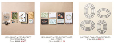 Photo of Hello Lovely Stamp Set and Layering Ovals Framelits