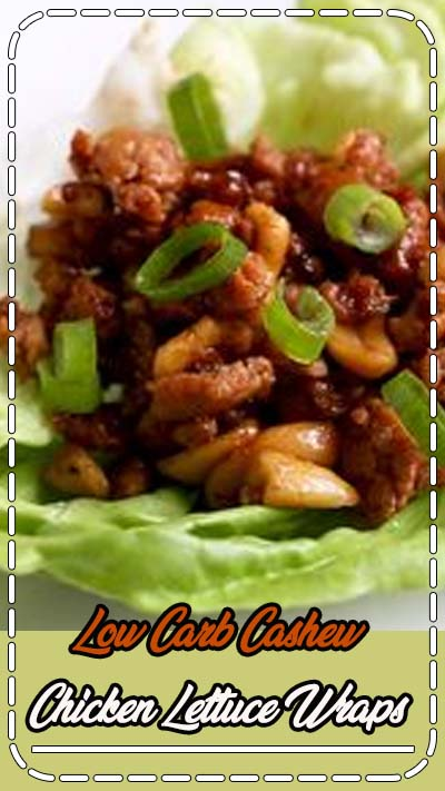 Low Carb Cashew Chicken Lettuce Wraps for dinner tonight! A easy and delicious recipe that quickly whips together in under 30 minutes. #lowcarb #keto #lowcarbdinner #lowcarbrecipe #lowcarbrecipes #ketorecipes #recipe #recipes #ketodiet #chicken #chickenrecipes #chickendinner via @thatslowcarb