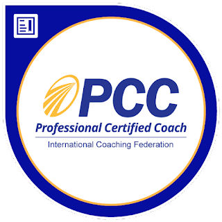 I am a PCC Certified Coach by the ICF!