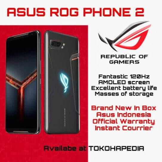 Spesifikasi dan Harga Asus ROG Phone
